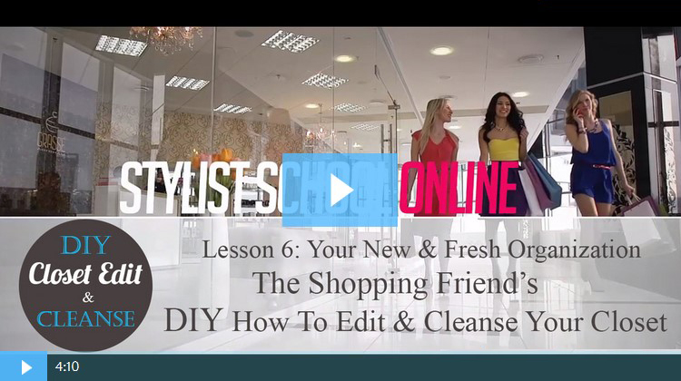 Lesson 6: Your New Fresh Closet Organization